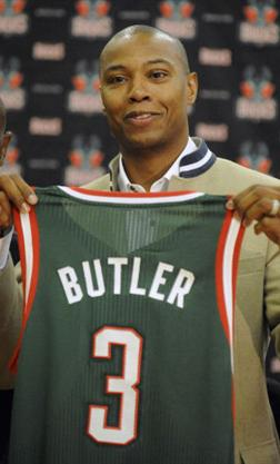 Butler Elite Basketball Program - Caron Butler (President)